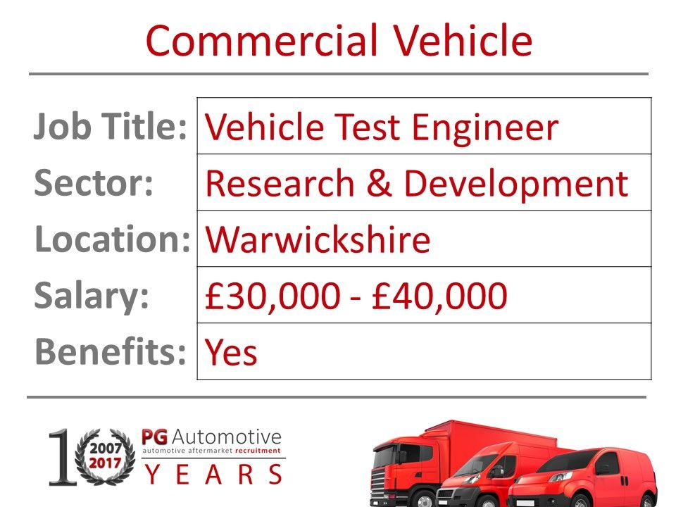 Pin on Commercial Vehicle Job Vacancies
