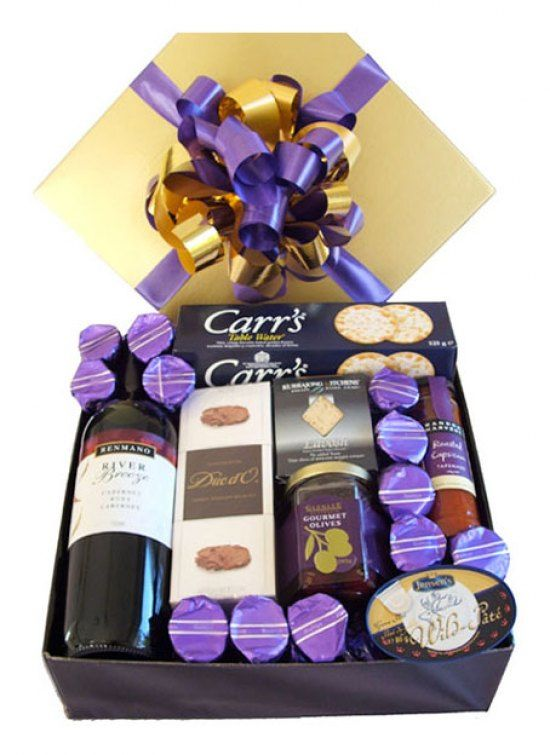 #flowers #australia #gifts #hamper -   Renmano Cabernet Ruby 750ml Carrs Table Water Crackers 125g Salut`e Mananillo Marinated Olives 150g Australian Red Wine Mustard by Millicent Grove 100g Tomato and Herb Chutney by Millicent Grove 100g Roccas Deli