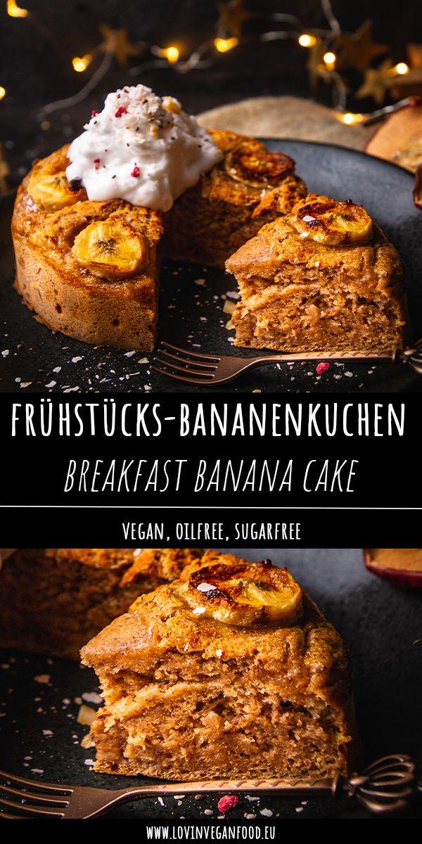 Breakfast Banana Cake