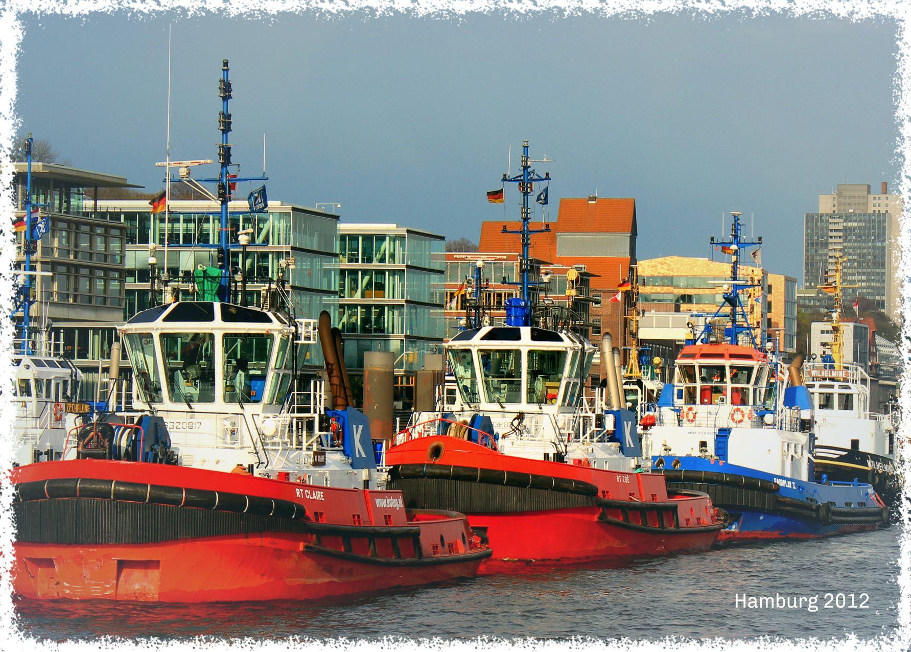 Schlepper. Hafen Hamburg. | Hamburg. Elbe. 2 | Hamburg ...
