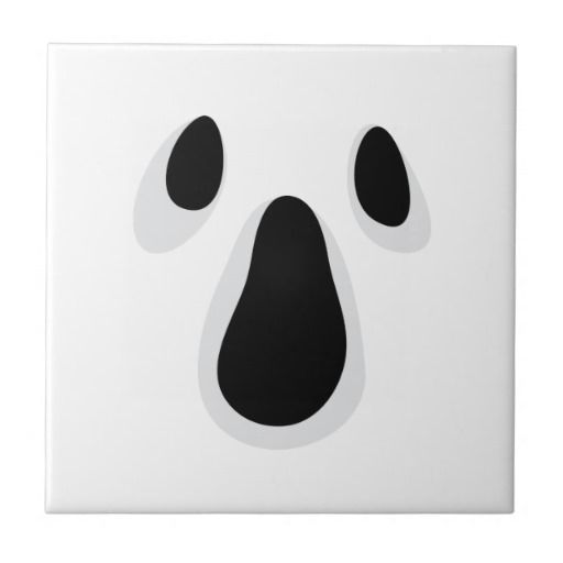 Ghost Eyes and Mouth Template | Ghost Eyes And Mouth Template Visage ...