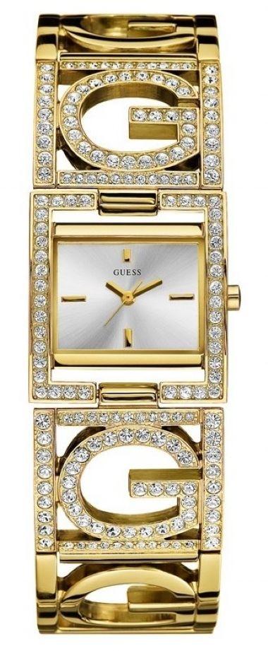5cb0e7babd7 92254L1GLDB2 Relógio Feminino Pulseira com Strass Gue ...