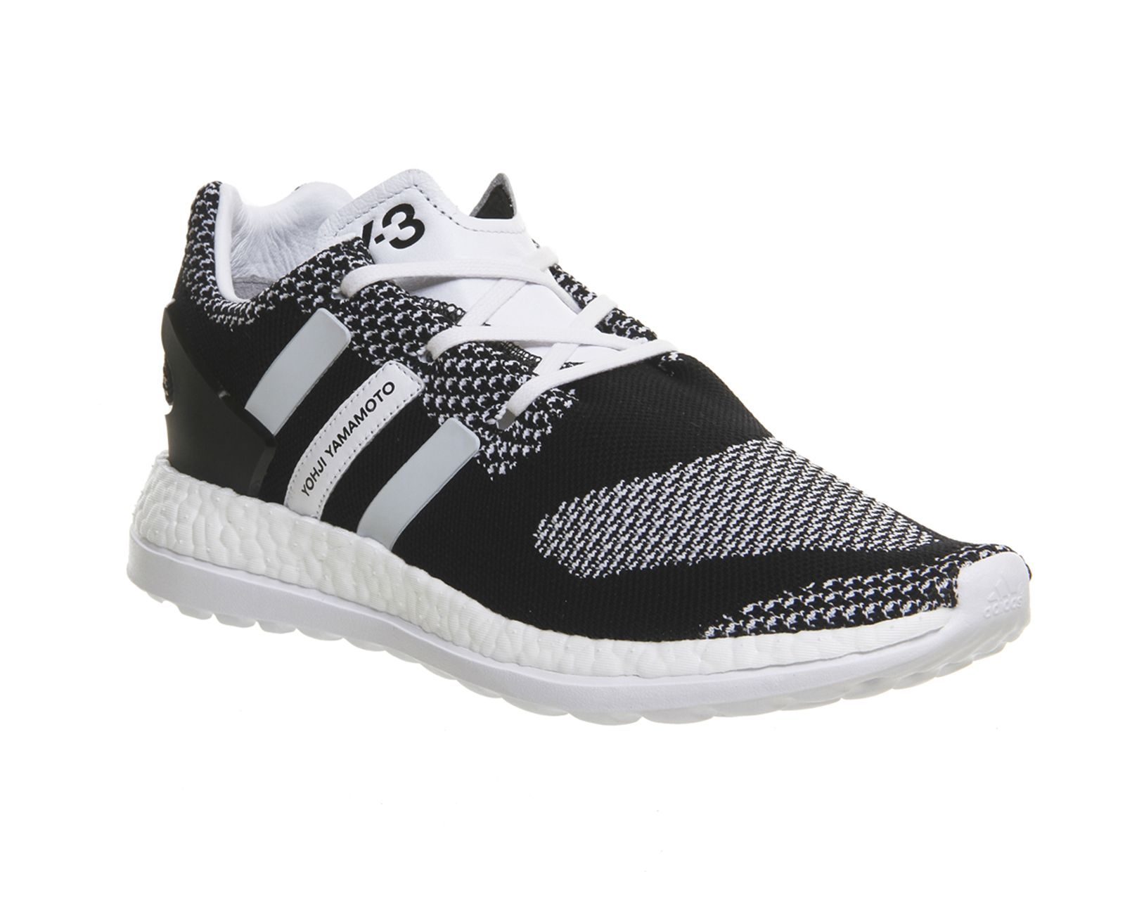 Adidas Pure Boost Zg Knit White Black White - His trainers