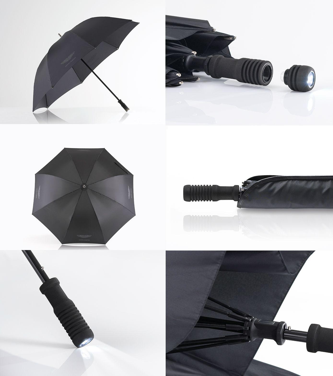 The Aston Martin Umbrella Collection Aston Martin Advanced Bike Umbrella