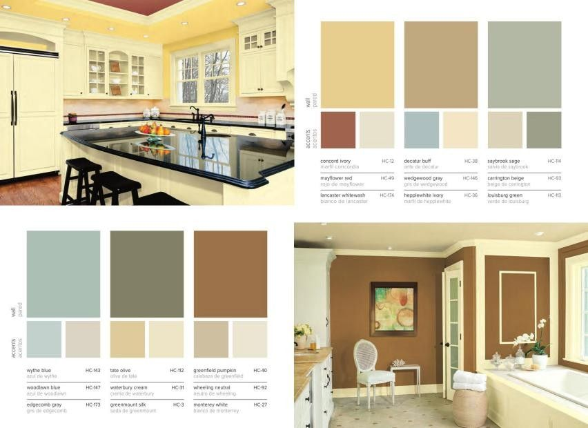 Benjamin Moore Paint Historical Collection Concord Ivory