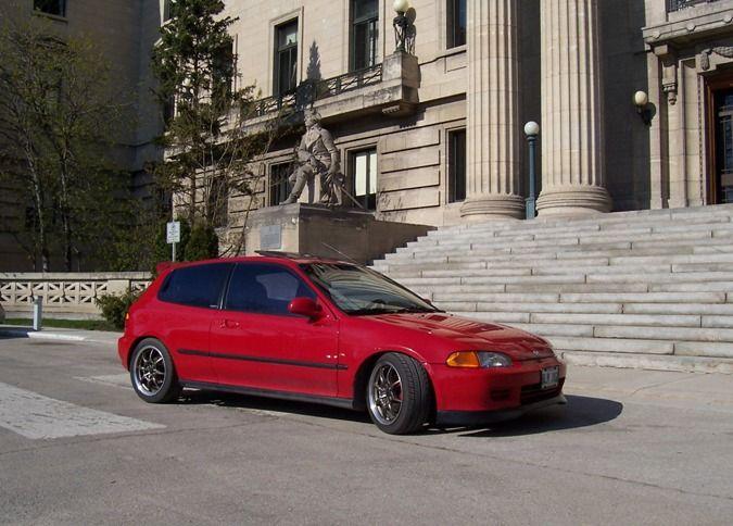 1993 Honda Civic Si Hatchback Turbo Honda Civic Honda Civic Si Hatchback Honda Civic Si
