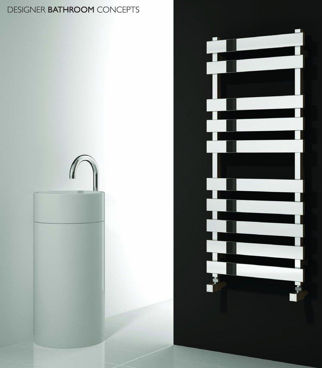Kreon Designer Stainless Steel Heated Towel Rails