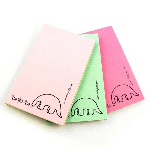 Mini Notepad - Anteater http://www.shanalogic.com/mini-notepad-anteater.html