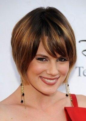 cortes de cabello para mujer cara ovalada modernas