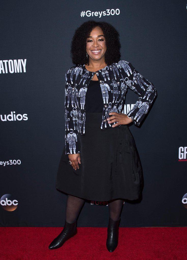 Greys Anatomy Celebrates 300th Episode See The Red Carpet Photos