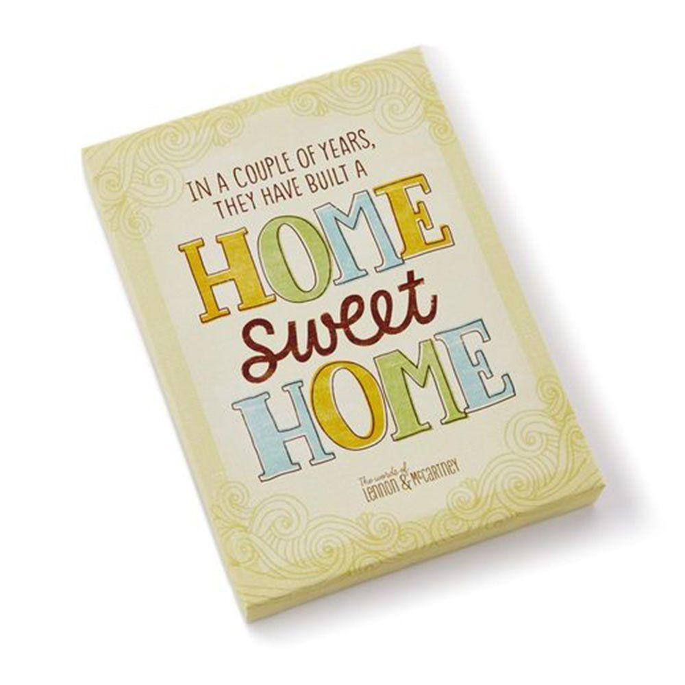 Hallmark LAM3113 Home Sweet Home Canvas Wall Art ** Visit the image ...