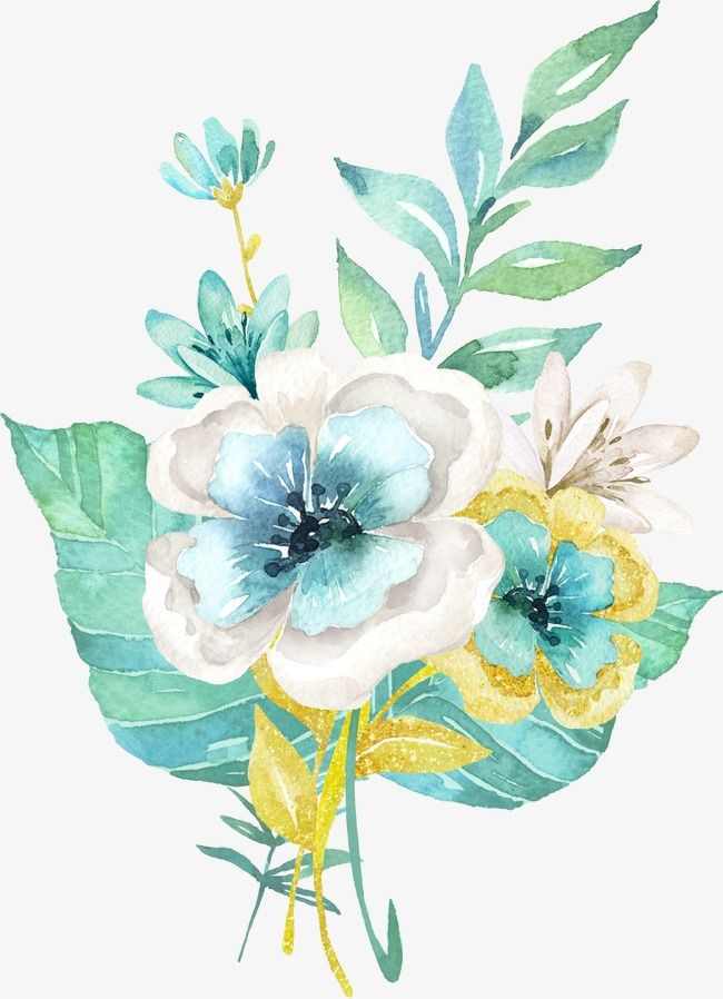 Millions Of Png Images Backgrounds And Vectors For Free Download Pngtree Free Watercolor Flowers Watercolor Flowers Artwork Painting