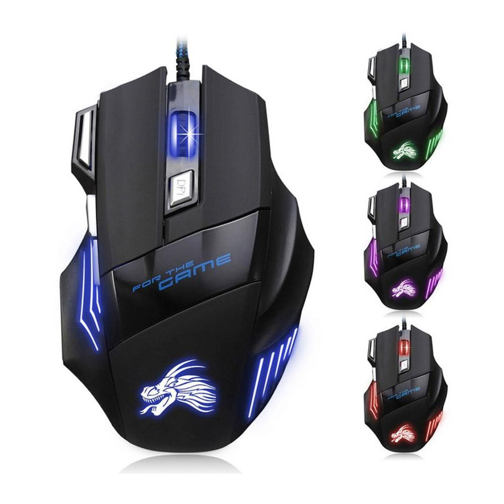 New Professional Wired Gaming Mouse 5500 DPI