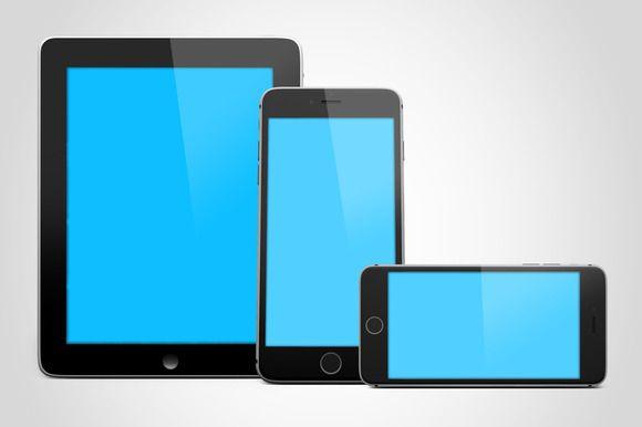 50 Responsive Website Devices MockUp Professional premade scenes