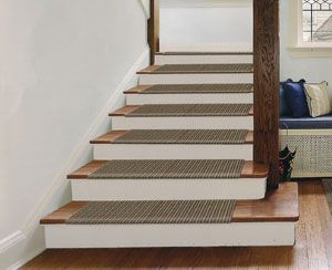 Carpet Tiles For Stair Treads Home Design Ideas and Pictures