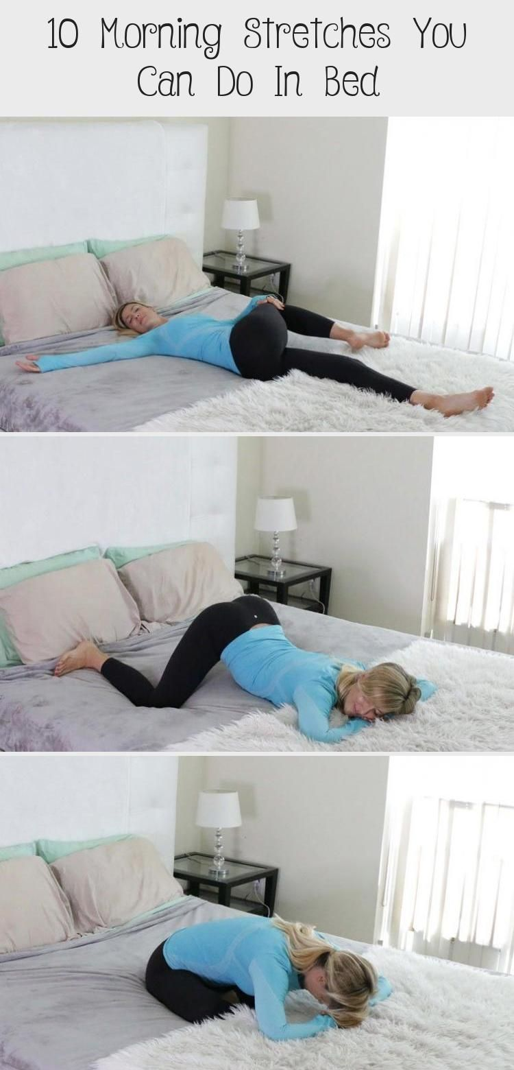 In bed morning stretches YogaMeditation YogaFlow