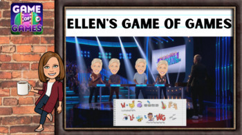 High School Zoom Ellen's Game of Games Activity Google