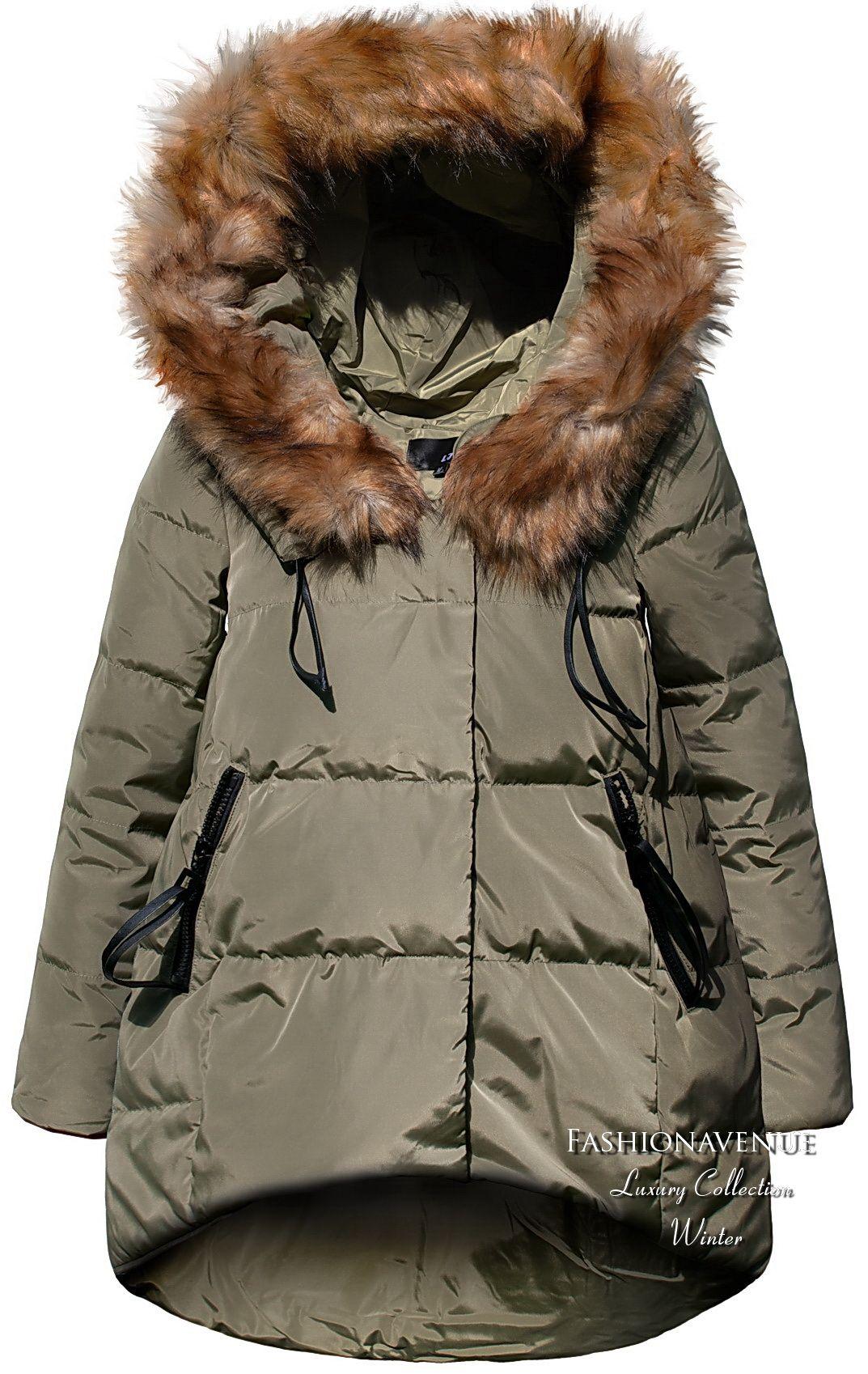 Kurtka damska RAMONESKA Zameczki Bufki #43 | Winter outfits