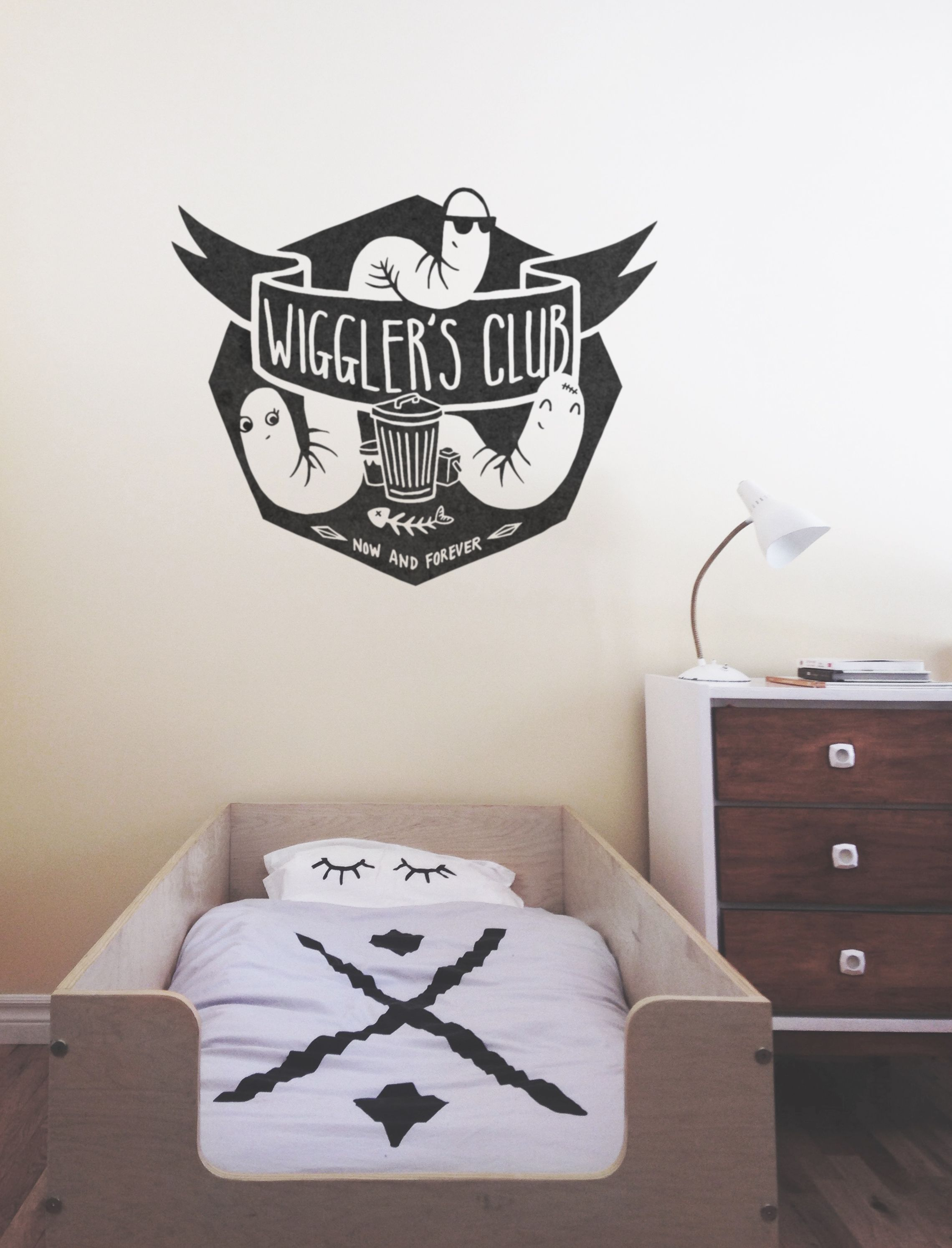 ADzif is a Montreal-based company that is specialized in designing and producing decorative wall art products. Browse our selection of wall decals now! & WIGGLERu0027S CLUB! Lol ;) Decal available on ADzif.ca | Tamé ...