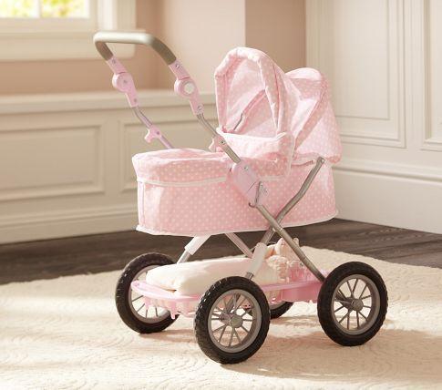 Polka Dot Doll Pram Baby Doll Strollers Baby Doll