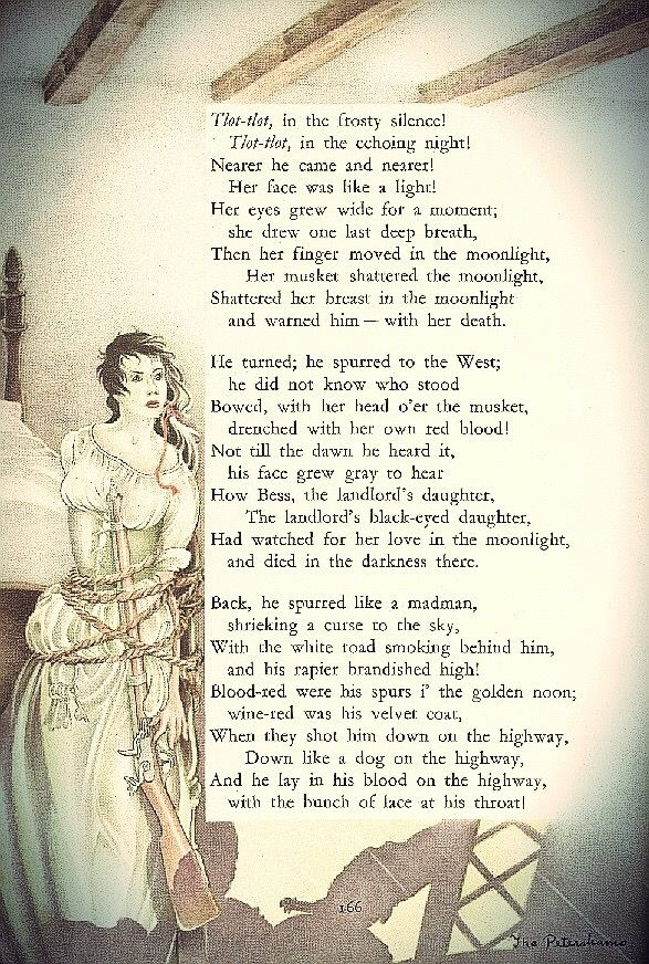 the highwayman poem by alfred noyes