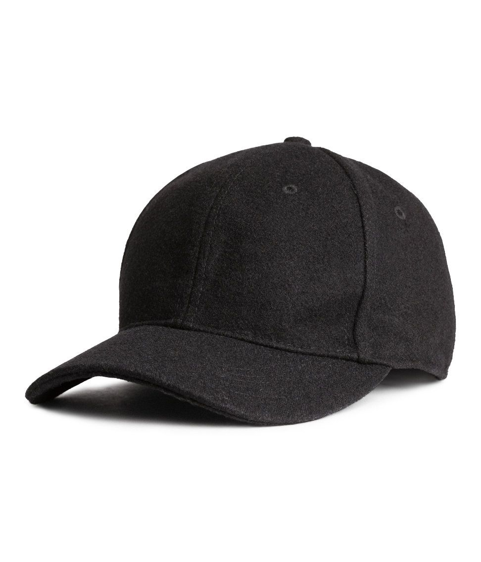5d0a1b2eae4 Wool-blend Cap