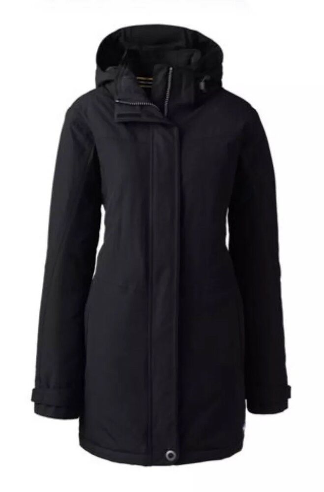 3cb61821ae LANDS  END Women s Plus Size Petite Size  3X (24-26) Squall Insulated Parka  Coat