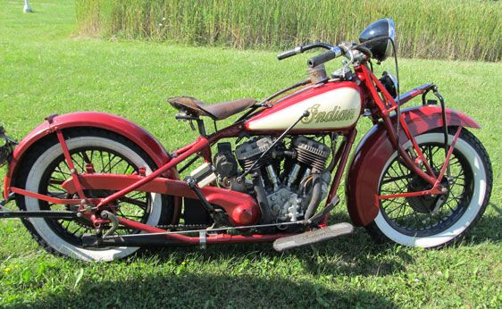 1933 Indian Chief With Images Indian Motorcycle Vintage