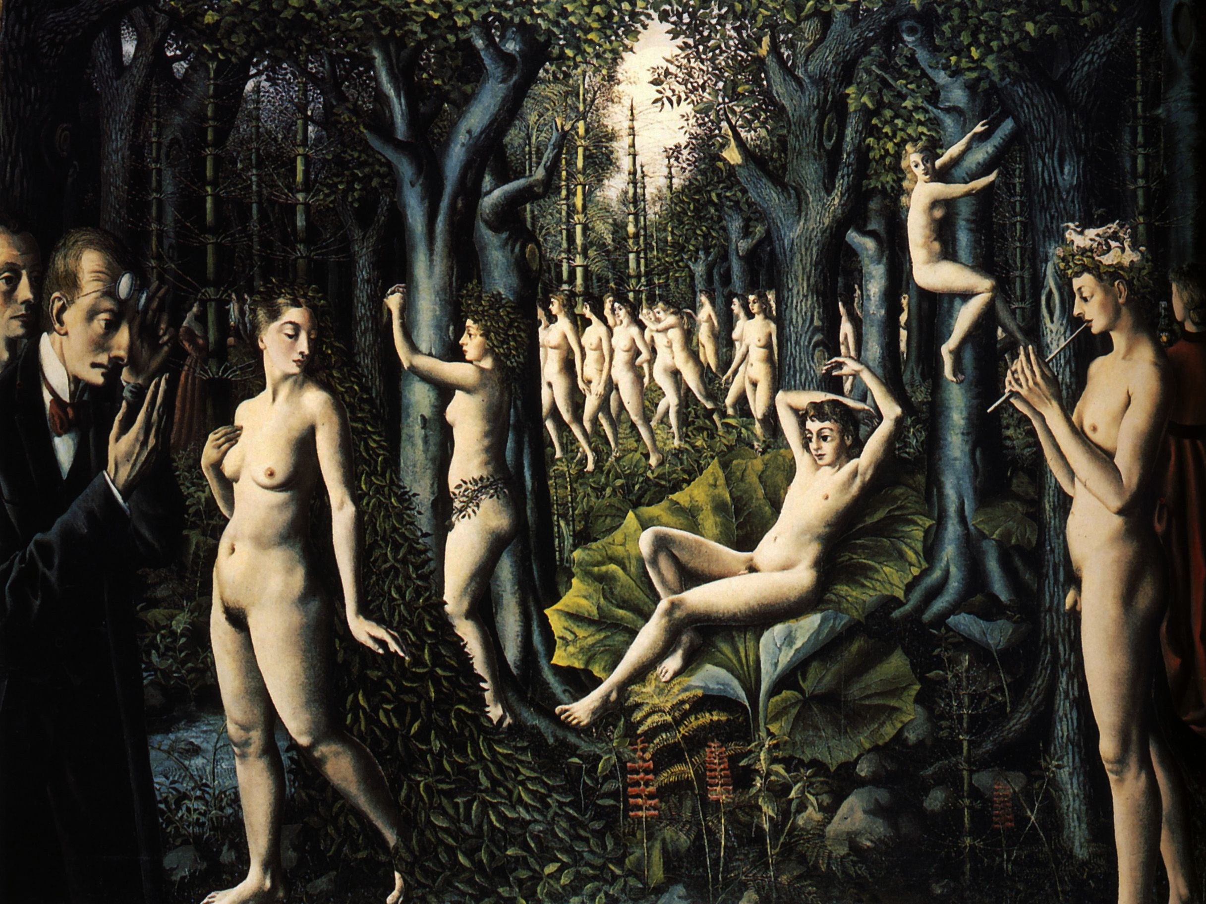 paul delvaux the awakening of the forest art paul paul delvaux the awakening of the forest 1939 art paul delvaux the forest paul delvaux and the o jays