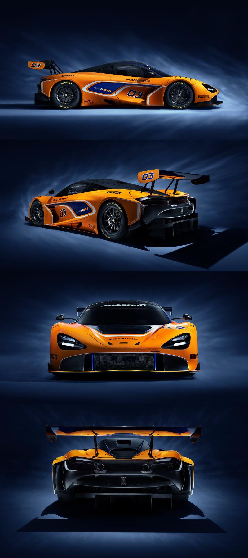 The Mclaren 720s Gt3 Is The Racing Version Of The Mclaren Youre