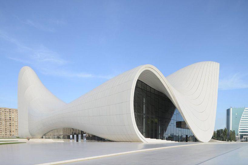 Zaha Hadid S Heydar Aliyev Center Wins Design Of The Year Zaha Hadid Zaha Zaha Hadid Architecture