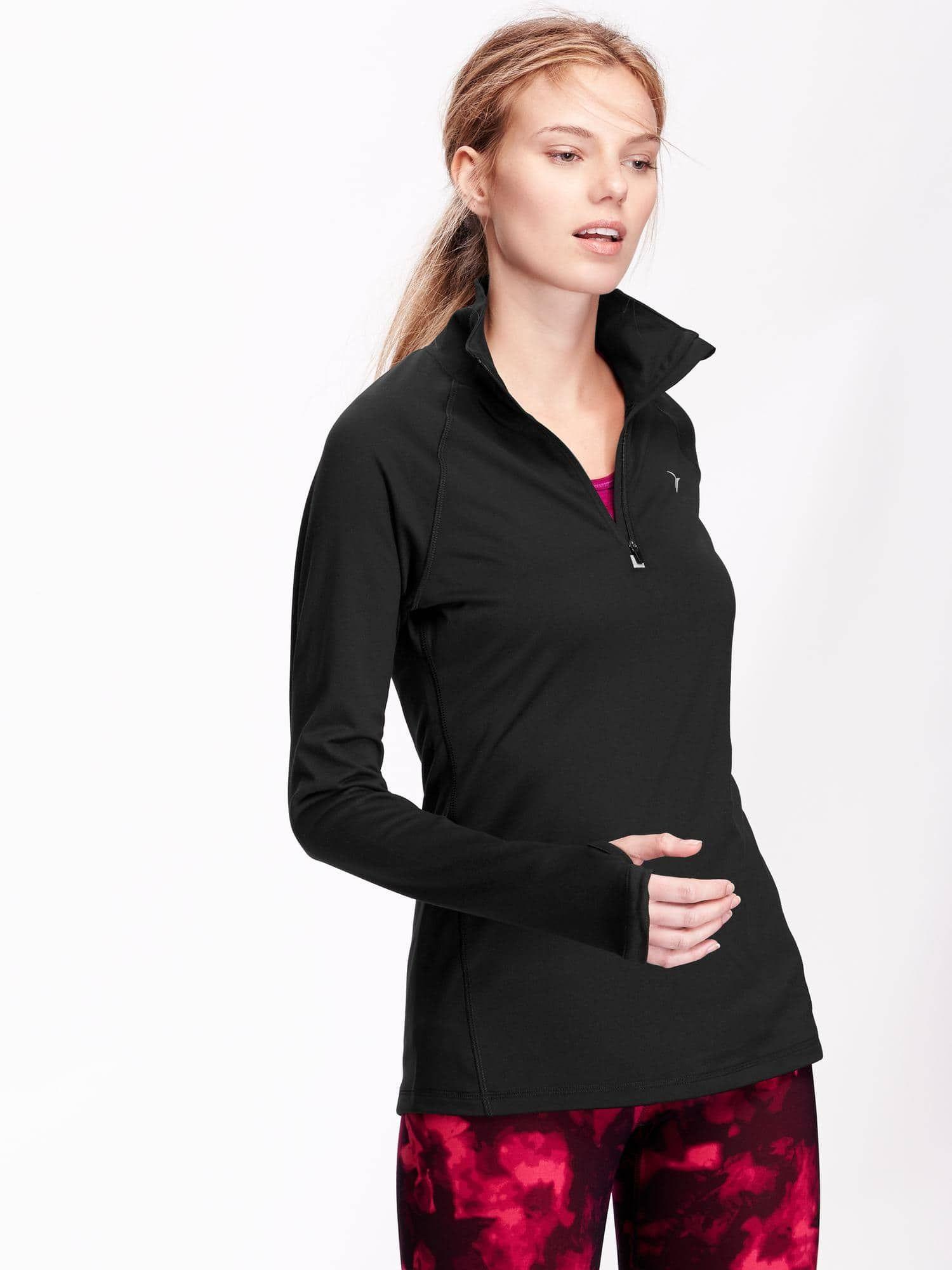 990fb64332c716 Go-Dry Performance 1 4 Zip Pullover for Women