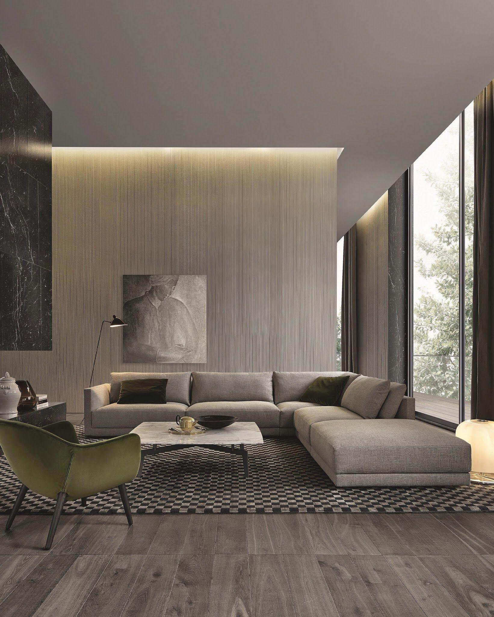 L Shaped Single Storey Homes Interior Design I J C Mobile: Jean Marie Massaud For Poliform