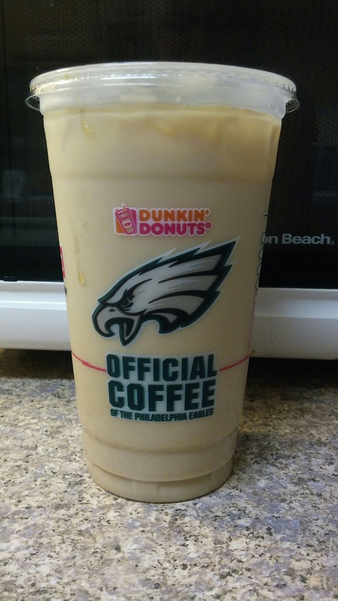 When the Eagles win I WIN! Free coffee from Dunkin Donuts