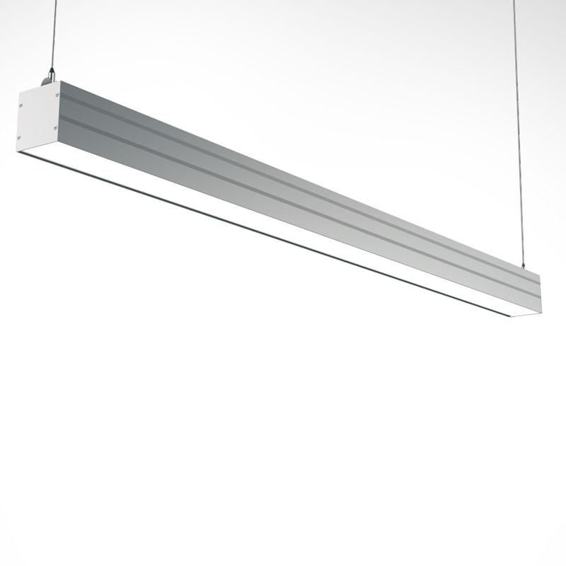 Streamline 4 Foot Led Linear Light With Suspension Mount Osvetleni