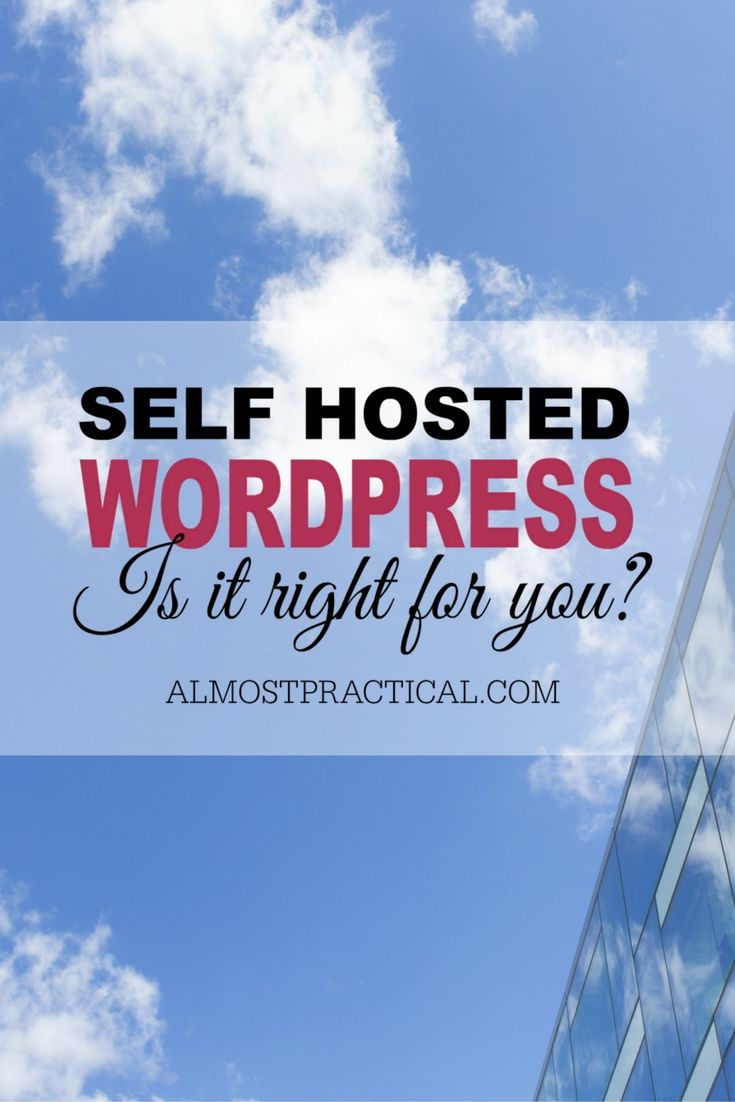 As much as I love self hosted WordPress, it is not the right platform for everyone.