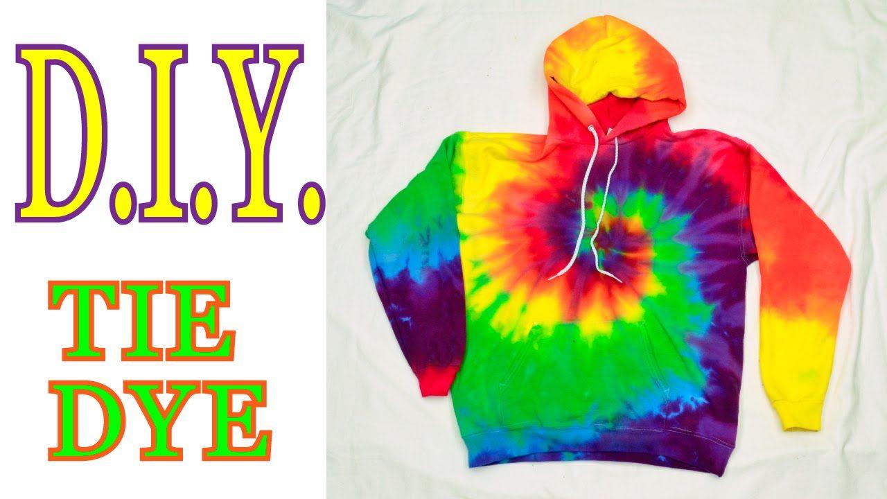 Youtube Diy Tie Dye Sweatshirt Diy Tie Dye Hoodie Diy Tie Dye Paint [ 720 x 1280 Pixel ]