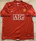 Authentic Nike Manchester United 07-09 Home Jersey. Mens XL Excellent Cond.