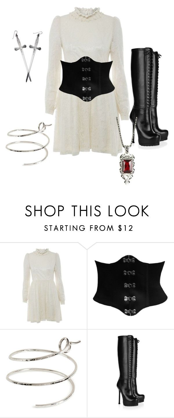 """""""Mortal instruments"""" by jade-44 ❤ liked on Polyvore featuring Voulez Vous, CO, Gripoix and Yves Saint Laurent"""