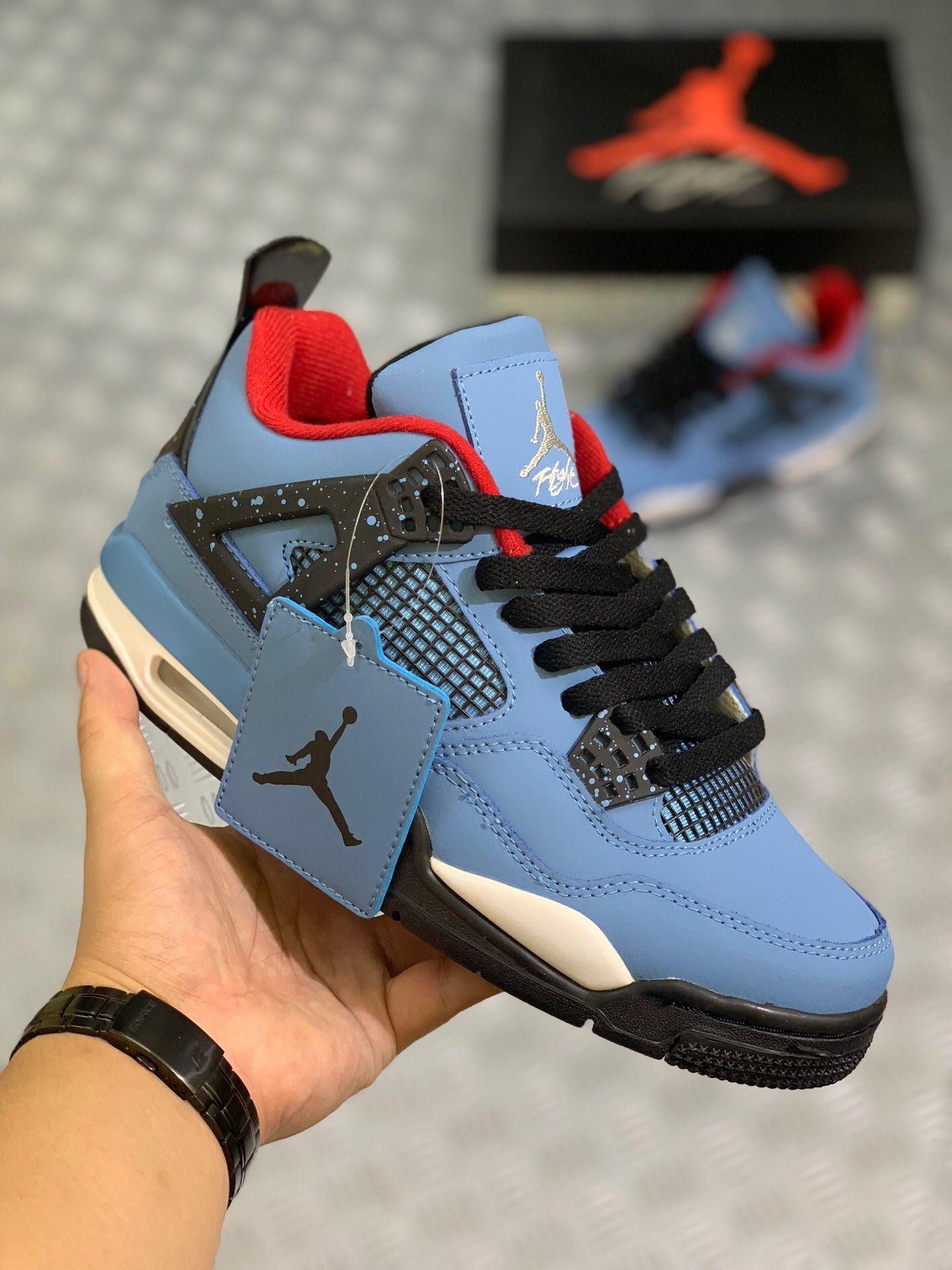 Travis Scott x Nike Air Jordan 4 Ice