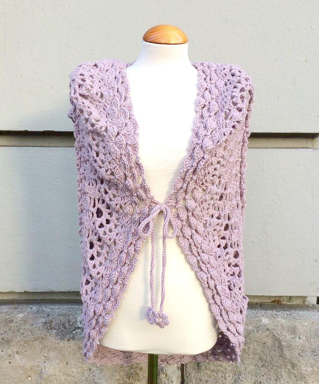 Teil 7 Kreisweste Crochetalong   Häkeln, Häkelmuster und Handarbeiten
