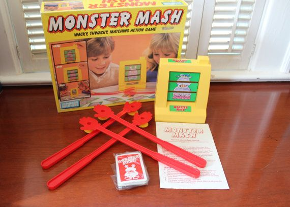 Hey, I found this really awesome Etsy listing at https://www.etsy.com/listing/231000493/monster-mash-vintage-board-game-by