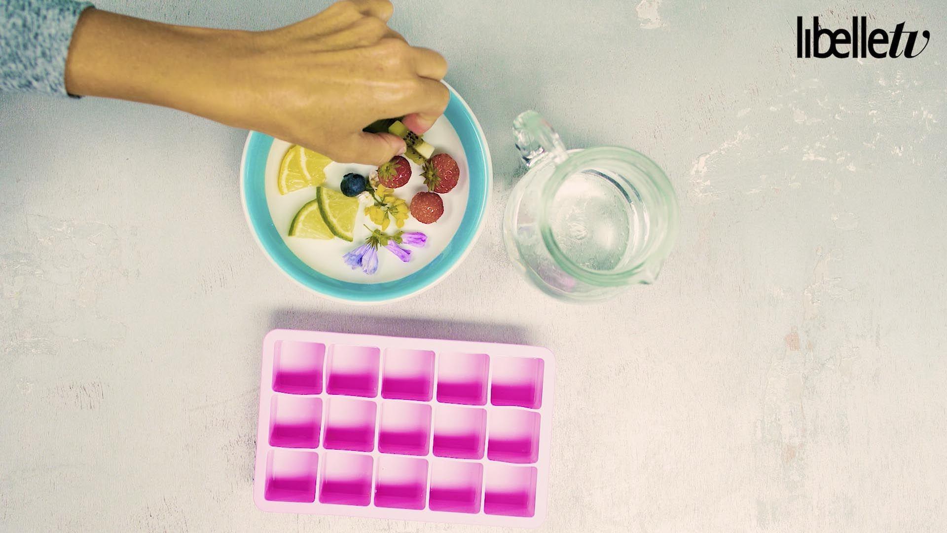 Fleur je water op met deze kleurige klontjes