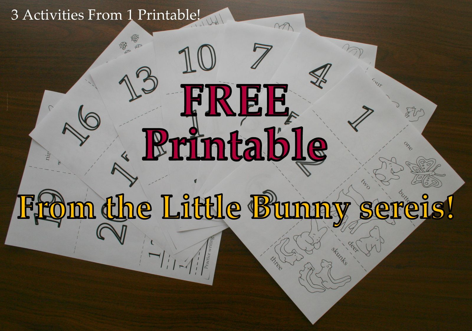 3 In 1 Printables With Images