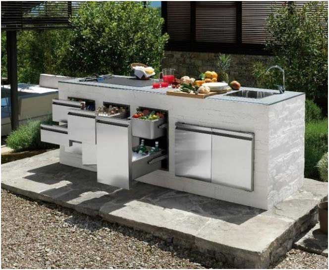 Grill kuche for Outdoor grill kuche