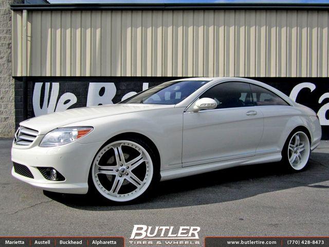 Mercedes Cl550 With Custom 22in Asanti Af167 Wheels Want Mercedes Sports Cars Luxury Luxury Sedan