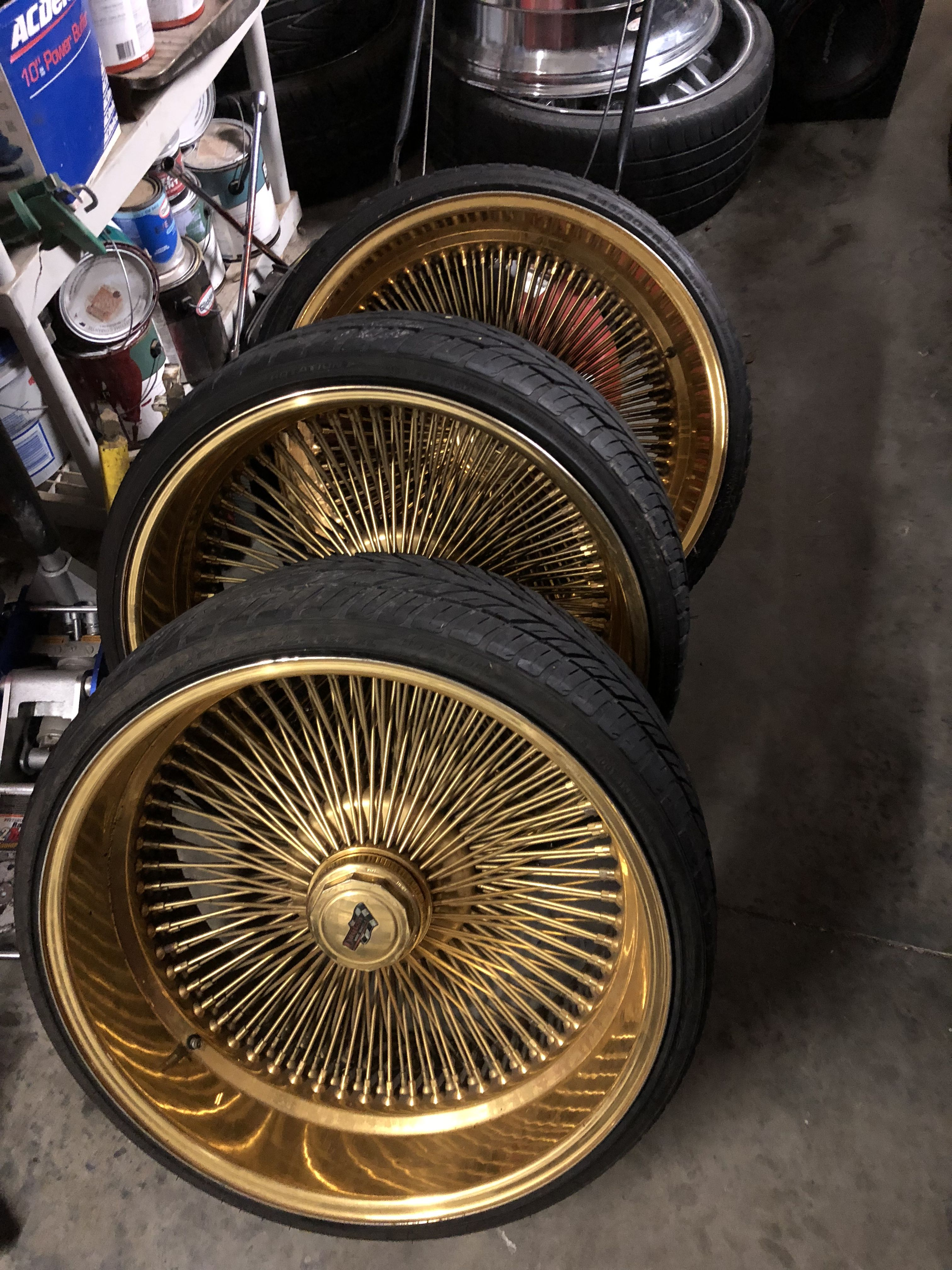 Dayton Wire Wheels Gold Wheels Custom Wheels And Tires Rims For Sale