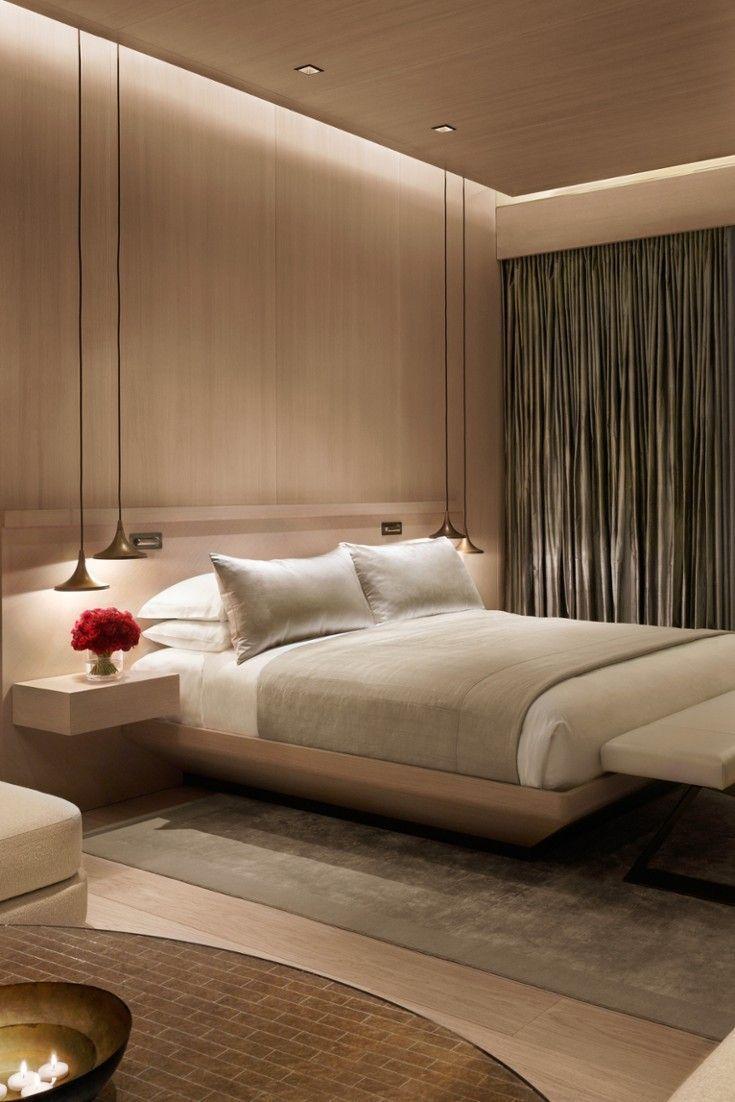 Minimalist Hotel Room: 14-卧室客房 Image By LiuYue