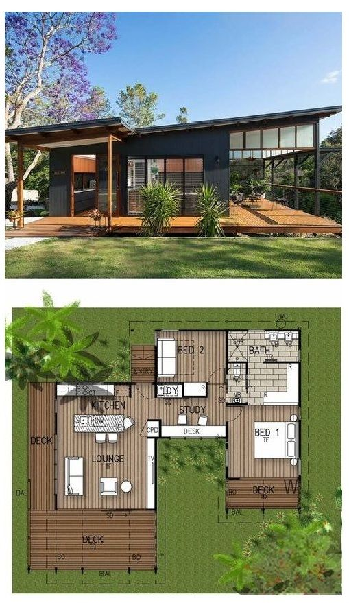 Top Modern Tropical Home Is A Granny Flat For A Hip Elderly Couple Architecture House House Designs Exterior House Plans