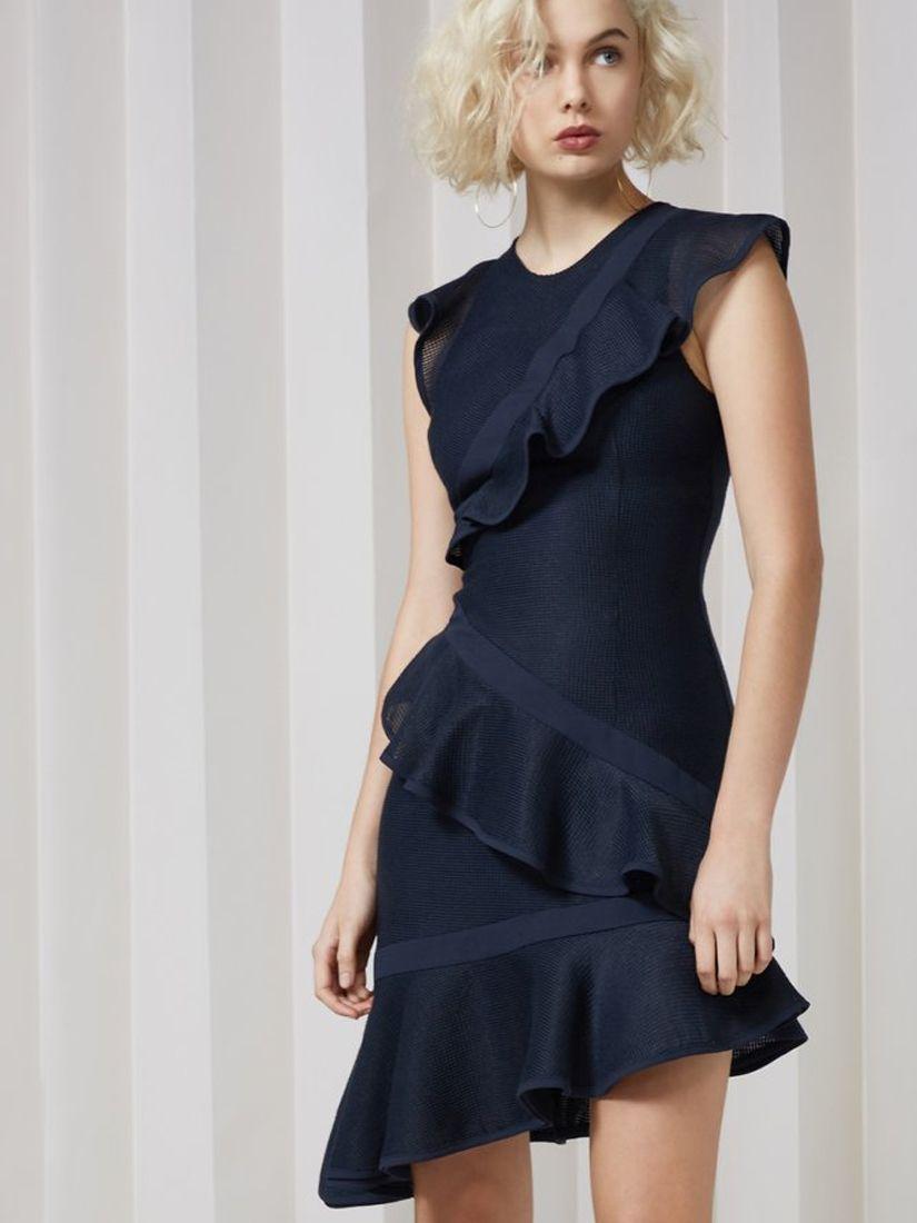 1f7af5e09999 Keepsake The Label 'Flashing Lights Mini Dress Navy' Dresses |Shop Splash  www.shopsplash.com